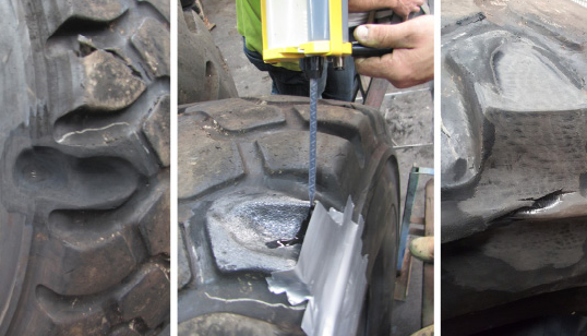 solid tyre fitments pu foam filling tyre sealant sidewall repair technogy services  india