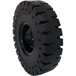 All terrain solid tire